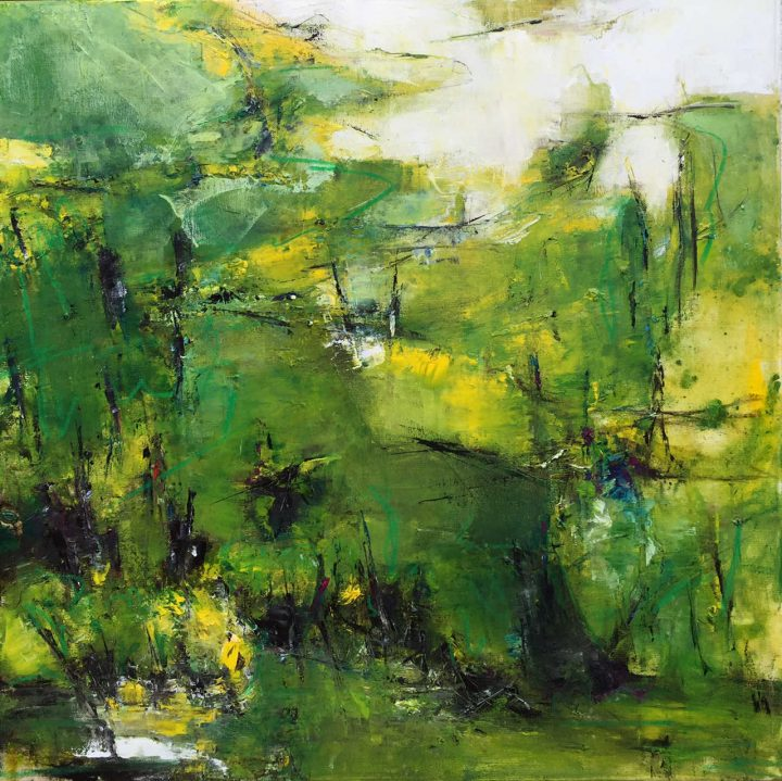En forêt - Peintures de Marythé