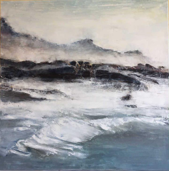Pays Basque, Biarritz, la côte des basques peint par Marythé